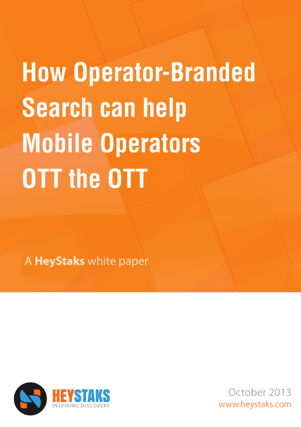 How Operator-Branded Search can help Mobile Operators OTT the OTT