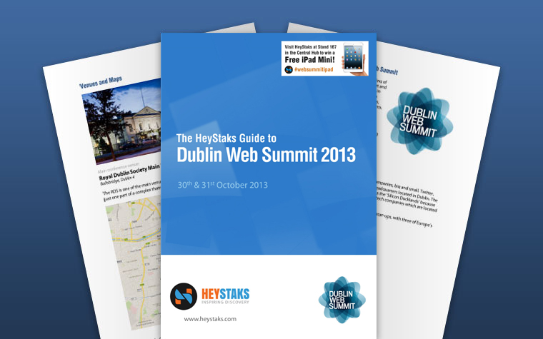 Dublin Web Summit 2013 Free Guide