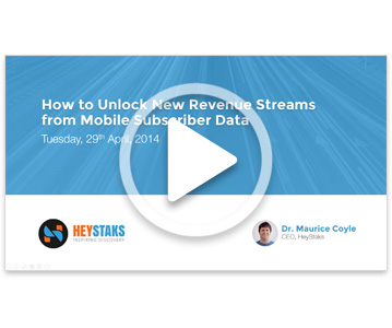 Webinar: Unlock New Revenue from Subscriber Data