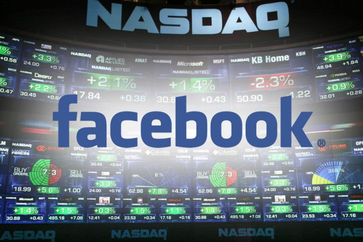 Facebook on the Nasdaq