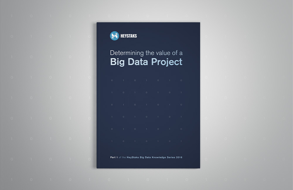 Determining the Value of a Big Data Project