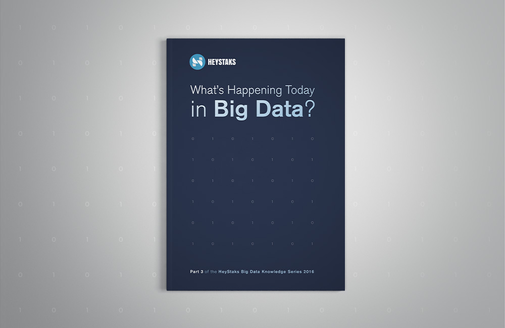 What's Happening Today in Big Data